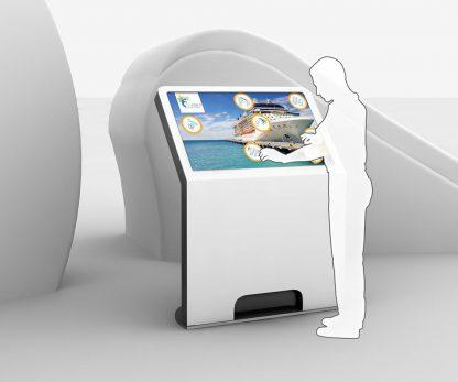 DELTA Premium MultiTouch Kiosk-Terminal, Details 01