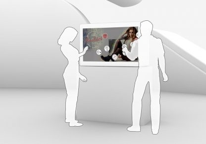 HYPEBOX Transparentes MultiTouch Display, Details 01