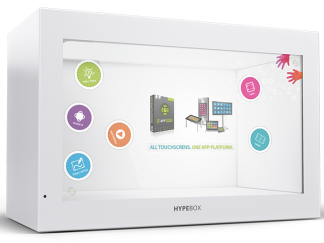 HYPEBOX Transparentes MultiTouch Display